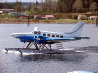 C-GVIB - VIA,Modified Beech 18, Seawind ,Campbell River, B.C. - by Caswell_John