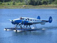 C-FCSN - VIA, Beech 18, Campbell River, B.C. - by Caswell_John