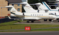 N104FT @ EGGW - Challenger 300 at Luton in June 2008 - by Terry Fletcher