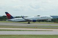 N717TW @ EGCC - Delta - Taking off - by David Burrell