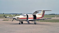 C-FCJV @ CYHD - With Bearskin Lake Airlines paint - by DJKennedy