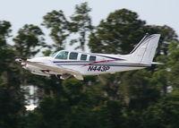 N443P @ LAL - Beech 58 Baron