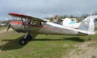 N72518 @ AK28 - 1946 Cessna 140 at Chena Marina Fairbanks