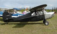 N3650E @ AK28 - 1947 Aeronca 7AC at Chena Marina , Fairbanks