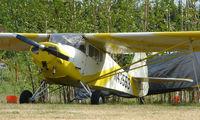 N43553 @ AK28 - 1946 Taylorcraft BC12-D at Chena Marina , Fairbanks