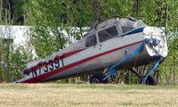 N7339T @ AK28 - Remains of Cessna 172A at Chena Marina , Fairbanks