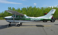 N5432V @ Z84 - Cessna 182 at Clear Airport AK