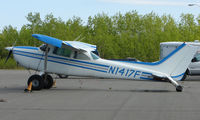 N1417F @ Z84 - Cessna 172 at Clear Airport AK - by Terry Fletcher