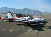 N250RT @ MEV - 1971 Piper PA-23-250 @ Minden, V - by Steve Nation