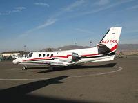 N427SS @ MEV - 1984 Cessna 501 @Minden, NV - by Steve Nation