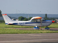 F-GAGY @ LFSN - Used to fly over gas pipeline - by Fanste54