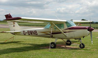 G-BWNB @ EGBW - Cessna 152 on a sunny Sunday afternoon at Wellesbourne