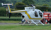 G-HKHM @ EGBW - Hughes 369D on a sunny Sunday afternoon at Wellesbourne