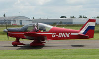 G-BNIK @ EGBW - Robin on a sunny Sunday afternoon at Wellesbourne