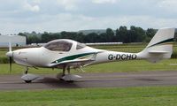 G-DCHO @ EGBW - A new Aquila aircraft on a sunny Sunday afternoon at Wellesbourne