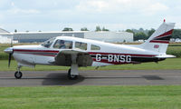 G-BNSG @ EGBW - Piper Pa28R-201 on a sunny Sunday afternoon at Wellesbourne