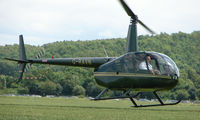 G-RAVN @ EGBW - Robinson R44 on a sunny Sunday afternoon at Wellesbourne