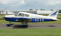 G-DEVS @ EGBW - Piper Pa-28-180 on a sunny Sunday afternoon at Wellesbourne