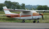 G-CDMH @ EGBW - Cessna P210N on a sunny Sunday afternoon at Wellesbourne