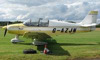 G-AZJN @ EGBD - Robin Dr300/140 at Derby Eggington