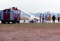 CF-DAE - August 1980 mishap @ Abbotsford Airshow - by Blake W. Smith