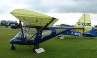 G-CDGI @ EGNW - Thruster 600N at Wickenby Wings and Wheels 2008