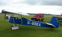 G-BBEA @ EGNW - Luton Minor ' up For sale ' at Wickenby Wings and Wheels 2008 - by Terry Fletcher