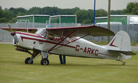 G-ARKG @ EGNW - 1952 Auster J5G at Wickenby