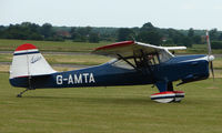 G-AMTA @ EGNW - 1952 Auster J5F at Wickenby Wings and Wheels 2008