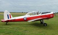 G-BWNK @ EGNW - 1951 DHC1 Chipmunk at Wickenby Wings and Wheels 2008