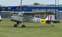 G-ASOI @ EGNW - This aircraft wears miliary marks WJ404 at Wickenby Wings and Wheels 2008
