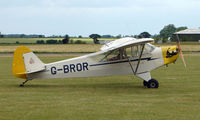 G-BROR @ EGNW - 1943 Piper Cub at Wickenby Wings and Wheels 2008