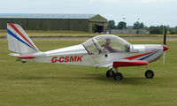 G-CSMK @ EGNW - Eurostar at Wickenby Wings and Wheels 2008