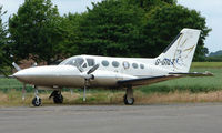 G-GILT @ EGNW - Cessna 421C at Sturgate