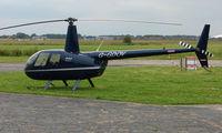 G-GDOV @ EGCF - Robinson R44 visiting Sandtoft