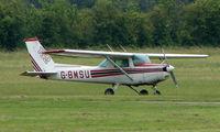 G-BMSU @ EGCF - Cessna 152 at Sandtoft