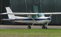 G-BWEU @ EGCF - Cessna F152 at Sandtoft