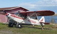 N3294B @ LHD - Piper Pa-18-135 at Lake Hood