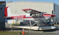 N9755B @ LHD - Cessna 180A at Lake Hood
