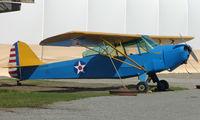 N47648 @ LHD - 1943 Taylorcraft DCO-65 at Lake Hood Museum