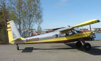 N4195D @ LHD - Helio H-395A at Lake Hood