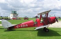 G-ADIA @ EGBK - Tiger Moth at Sywell - by Simon Palmer
