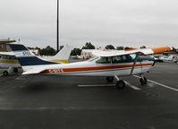 C-GITX @ PAO - 1965 Cessna 182H 'ArtcicSun2' STOL @ Palo Alto, CA - by Steve Nation
