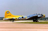 N3701G @ FTW - B-17 Chuckie at Meacham Field - by Zane Adams