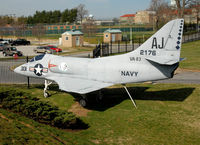 139968 @ U.S. NAVAL - A-4A 139968 at U.S. Naval Academy 3-29-08 - by J.G. Handelman