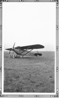 UNKNOWN @ AMA - Ryan M-1 (Hisso powered) Gray's Flying School Amarillo, TX  @ 1928-29 - Taken by my late father Charles W Adams Jr.