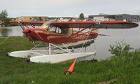 N3689P @ LHD - Piper Pa-18A-150 at Lake Hood