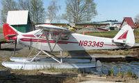 N83349 @ LHD - Piper Pa-18-150 at Lake Hood
