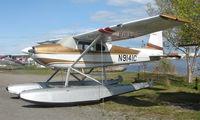 N9141C @ LHD - Cessna 180 at Lake Hood