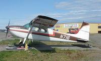 N716 @ LHD - Cessna 180E at Lake Hood